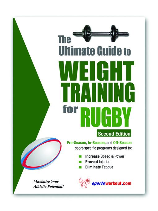 The Ultimate Guide to Weight Training for Rugby (eBook)